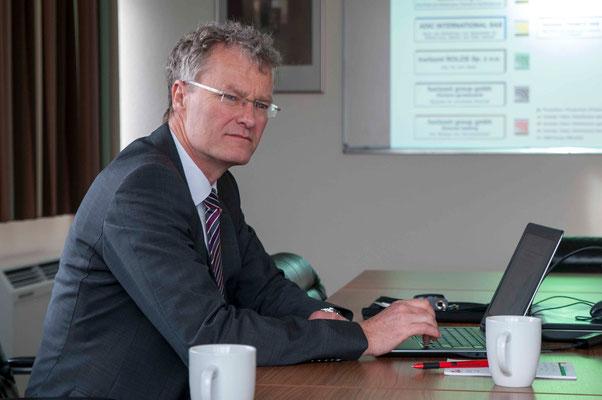 Geschäftsführer Dirk Trompeter