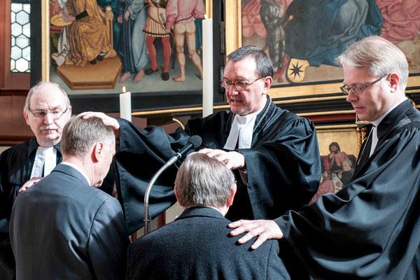 Segen für die neuen Kirchenältesten