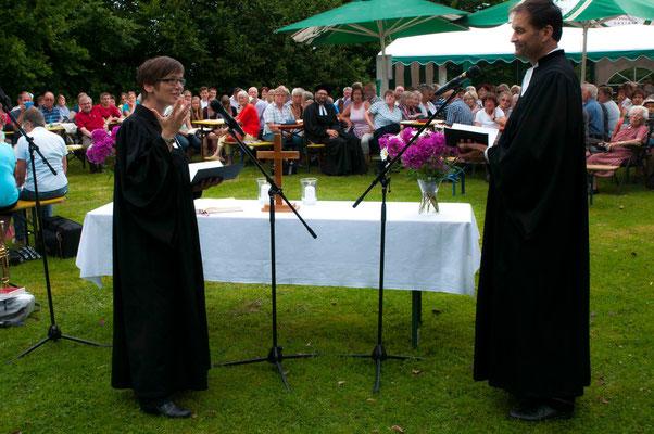 Kathrin Wittich und Dierk Brüning