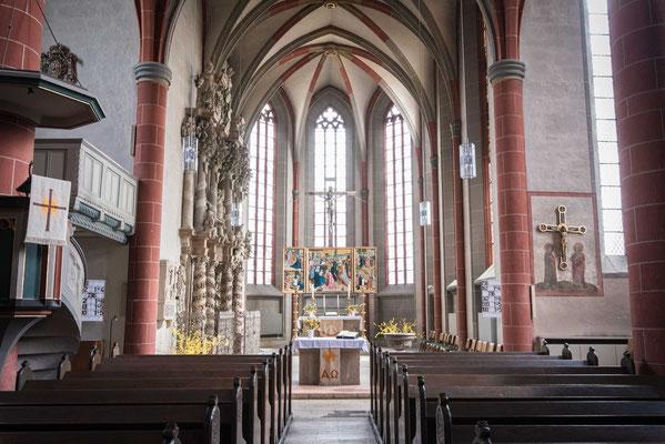 Der Innenraum der Nikolaikirche