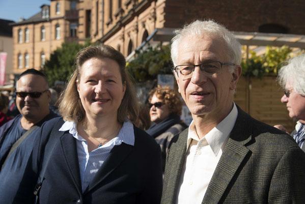 Monika Bunk und Helmut Wöllenstein