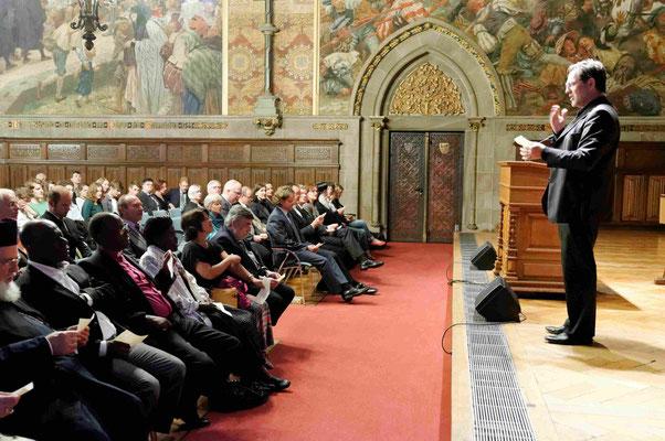Empfang des Fachbereiches Evangelische Theologie der Philippsuniversität