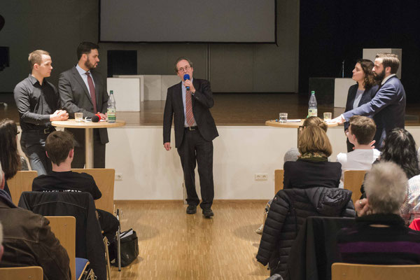 Dekan Hermann Köhler dankte den Diskutanten