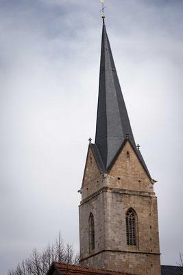 Der Turm der Nikolaikirche
