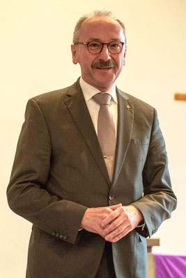 Oberlandeskirchenrat Horst Rühl für die Diakonie in Kurhessen-Waldeck