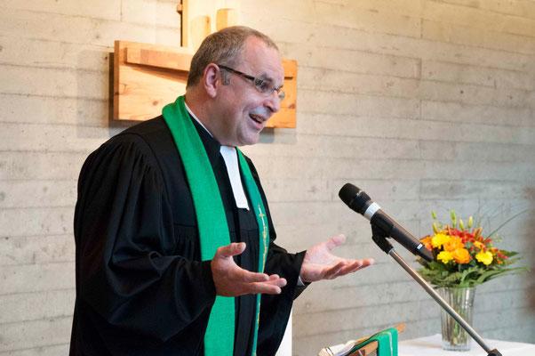 Eine furiose und zugleich bescheidene Predigt