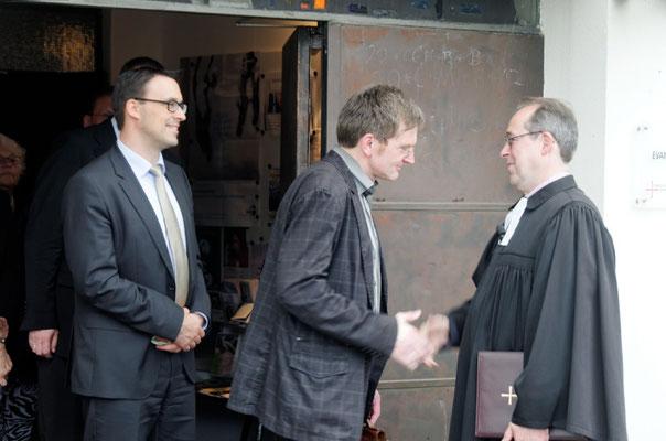Sören Bartol (MdB), Pfr. Friedhelm Wagner, Köhler