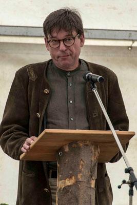 Manfred Bauer, Leiter des Naturparkzentrums Kellerwald
