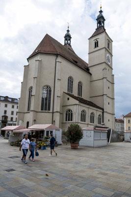 Neupfarrplatz mit St. Kassian