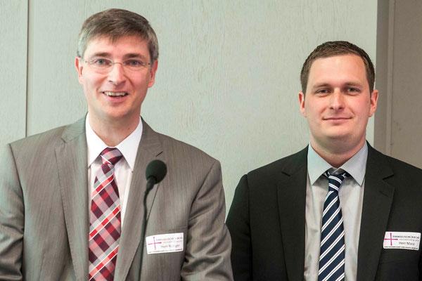 Gerhard Rödiger und Heiko Manz