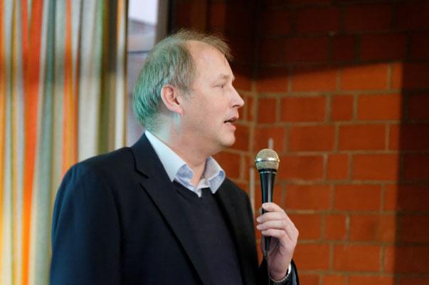 Holger Mick, Leiter des Berufsbidlungswerkes Nordhessen - Standort Kassel
