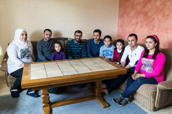 Besuch bei Familie Jomaan
