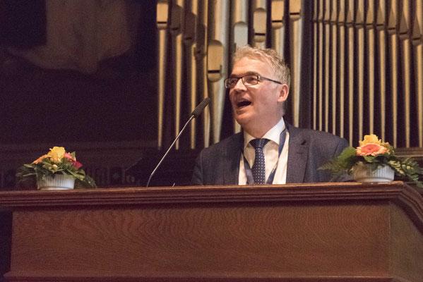 Begrüßung durch Prof. Dr. Lukas Bormann