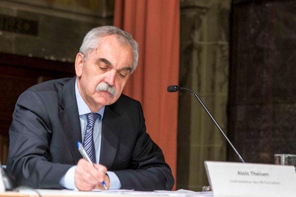 Alois Scheuer, Chefredakteur des Hessischen Rundfunks