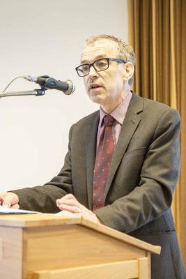 Prof. Dr. Eberhard Hauschildt referierte zum veränderten Berufsbild von Pfarrerinnen und Pfarrern (Foto: Karl-Günter Balzer)