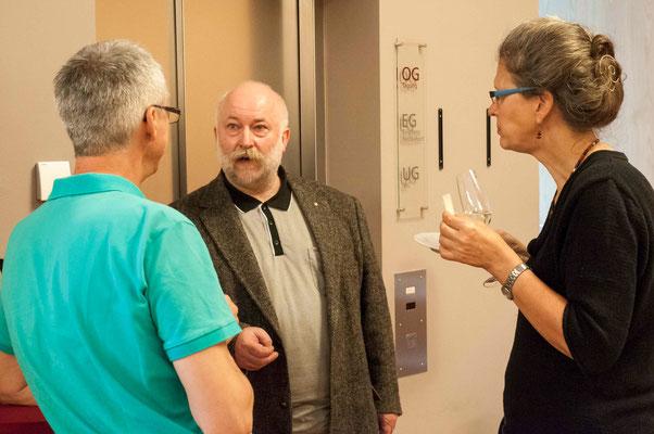 Dr. Jochen Gerlach (v.l.n.r.), Uwe Hesse, Ute Göpel