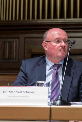 Dr. Manfred Scheuer, Bundesbank