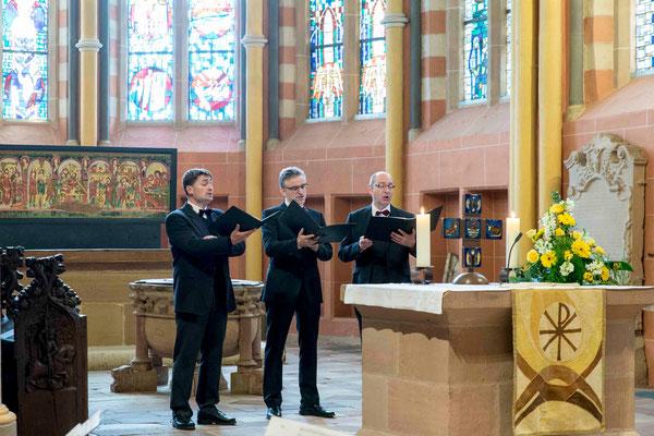 Mitglieder des Marburger Oktetts