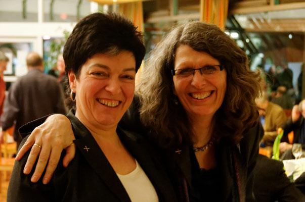 Martina Spohr und Ute Göpel aus dem Team des Arbeitsbereiches Wirtschaft-Arbeitswelt-Soziales