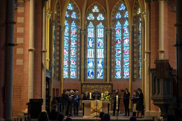 Die Kantorei der Stiftskirche singt die Vesper