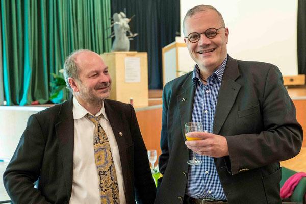 Kollegen Dieter Lomb und Ralf Weidner