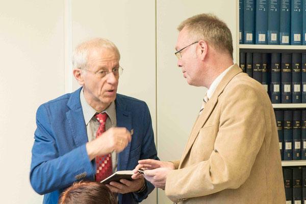 Propst Helmut Wöllenstein, Dekan Burkhard zur Nieden