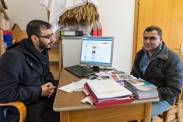 Mehmet Kirok und Marwan Hussein