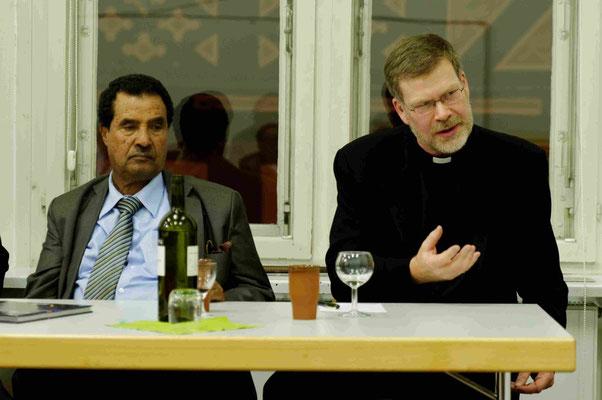 Diskussion Dr. Agedew Redie, Äthiopien und Rev. Dr. John Gibaut, Kanada