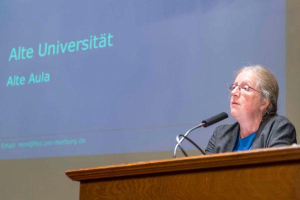 Prof. Dr. Katharina Krause, Präsidentin der Philipps-Universität