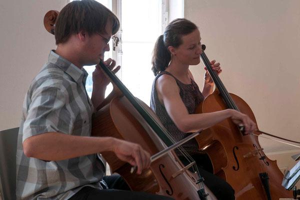 David Bernbeck und Valeska Schulz