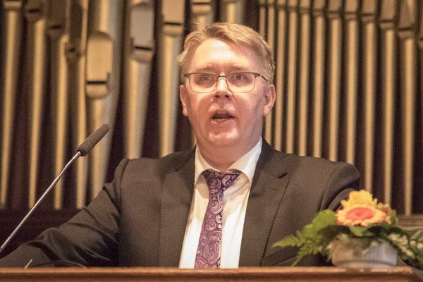 Prof. Dr. Marcell Saß, Dekan des Fachbreichs Evangelische Theologie