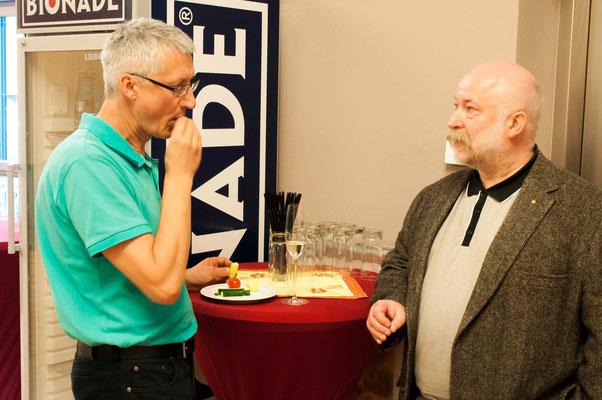 Dr. Jochen Gerlach (links) und Umweltpfarrer Uwe Hesse