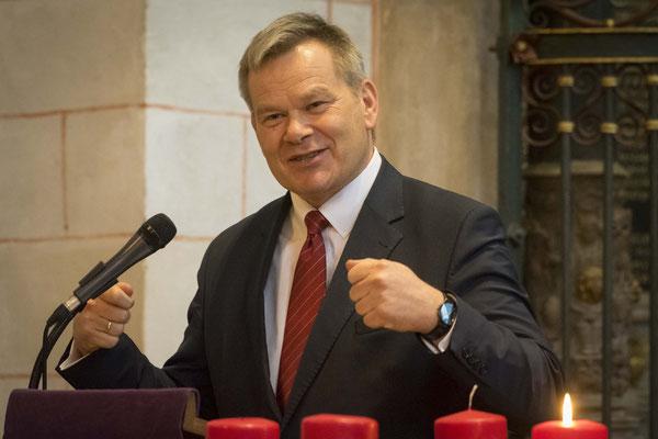 Dr. Thomas Spies, Oberbürgermeister der Stadt Marburg