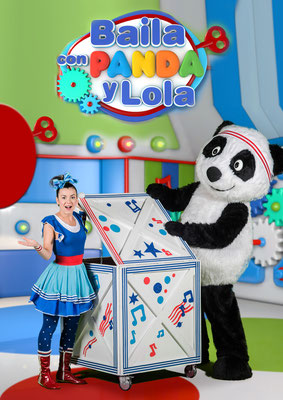 Baila con Panda y Lola