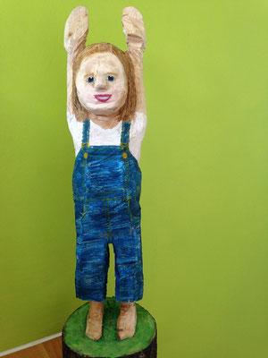 """""""Soo gross bin ich"""" (Birke, 52 cm, 2014)"""