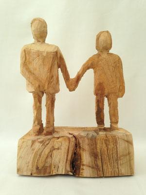 Paar (Kirsche, 33 cm, 2016)