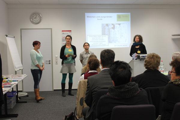 v.l.n.r.: Sylvia Höppler, Katrin Gottschaldt, Torsten Weber, Claudia Döring