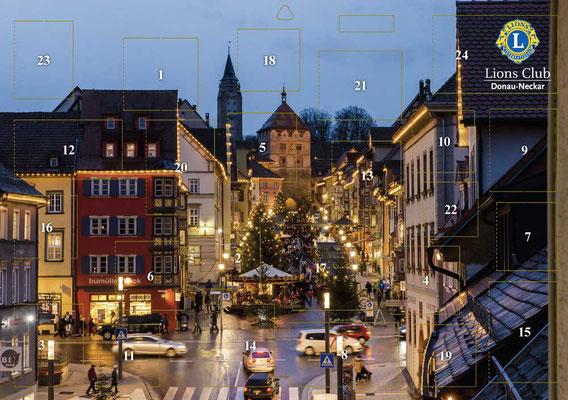 Lions Club Donau-Neckar - Adventskalender 2015