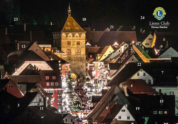Lions Club Donau-Neckar - Adventskalender 2014