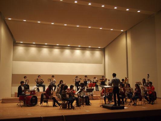 ハーバーライツ・コンソート大ホール練4