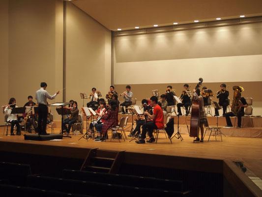ハーバーライツ・コンソート大ホール練5