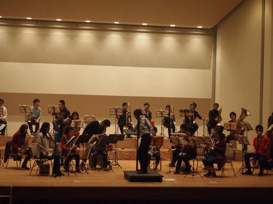 ハーバーライツ・コンソート大ホール練2