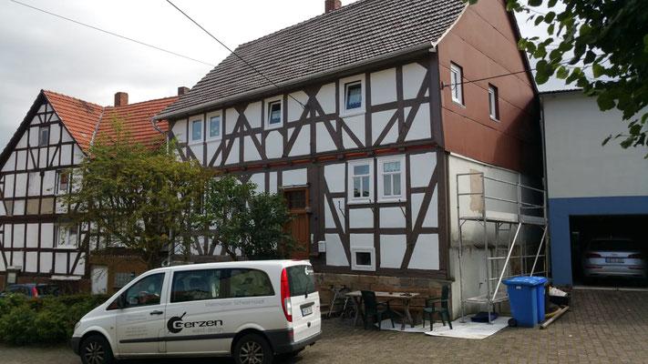 Fachwerksanierung Obergrenzebach
