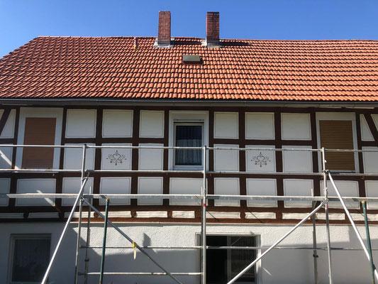 Fachwerksanierung Fassade in Schwalmstadt - Wiera
