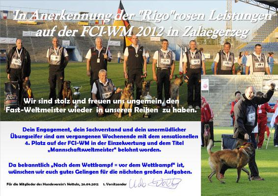 Michael FCI-WM 2012 mit Rigo