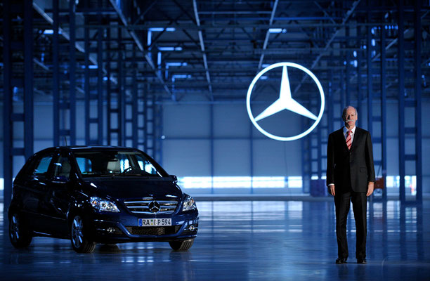 Portrait Dieter Zetsche, Daimler AG. Corporate-Fotografie, Businessportrait