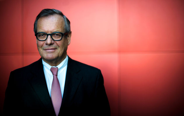 Klaus Eberhardt, CEO Rheinmetall AG Düsseldorf posiert für ein Portrait. Corporate-Fotografie, Businessportrait Portrait