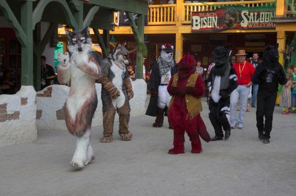 Zyx, Lagan, Nightfirer, Wolf-Bold, Skrat und BerkWolf