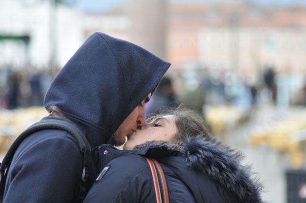 Venezia - bacio - Foto di Alessandro Giacoletto