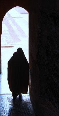 Marrakech - madre con bimbo - Foto di Alessandro Giacoletto